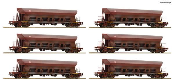 Roco 77915 - German Self-unloading hopper wagon Set (12 Cars) of the DR