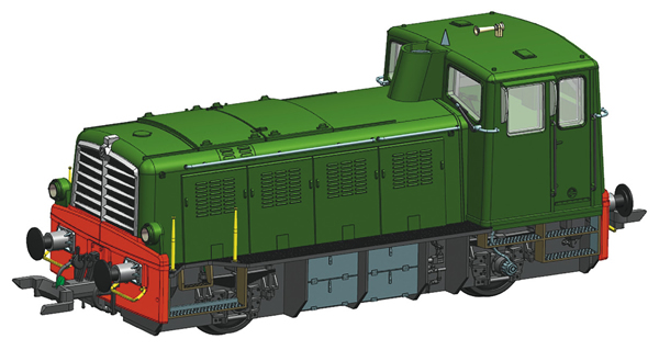 Roco 78002 - Italian Diesel Locomotive Class D.225.6000 of the FS (Sound Decoder)