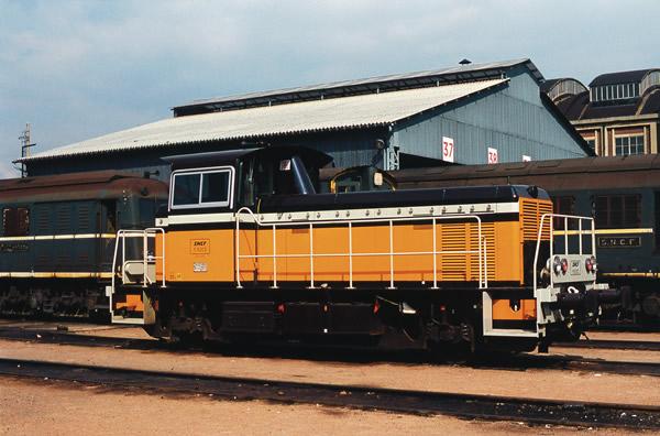 Roco 78009 - French Diesel Locomotive Series Y 8000 of the SNCF (Sound Decoder)