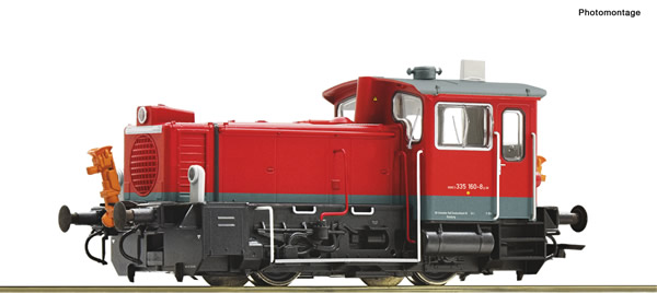 Roco 78017 - German Diesel locomotive 335 160-8 of the DB AG (Sound)