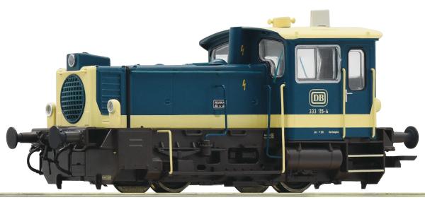 Roco 78020 - German Diesel Locomotive Class 333 of the DB (Sound Decoder)