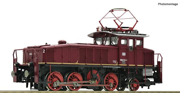Roco 78061 - German Electric locomotive class 160 of the DB (Sound)