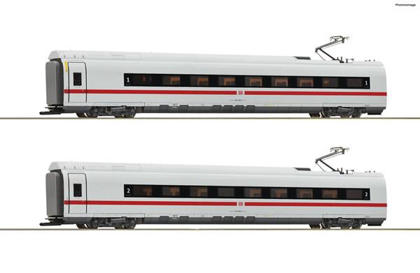 Roco 78096 - German 2 piece set: Intermediate coaches class 407 of the DB AG