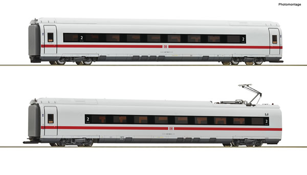 Roco 78097 - German 2 piece set: Intermediate coaches class 407 of the DB AG
