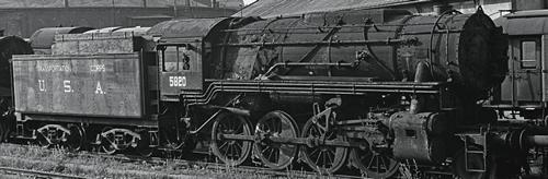 Roco 78151 - USA Steam Locomotive S 160 of the USATC (Sound Decoder)