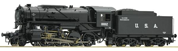 Roco 78153 - Steam locomotive S 160, USATC US Zone Austria (Sound Decoder)