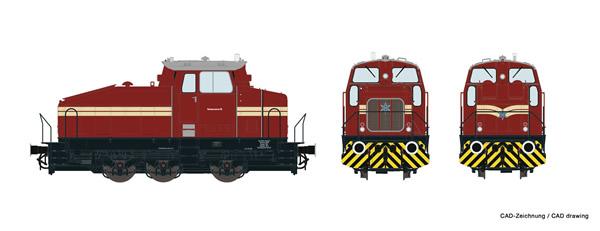 Roco 78178 - German Diesel Industrial Shunter DHG 500 of Rheinpreussen AG