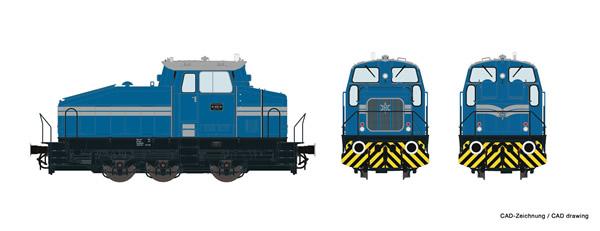 Roco 78179 - German Industrial Diesel Shunter DHG 500