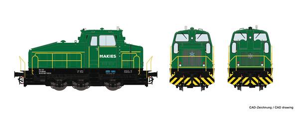 Roco 78180 - German Diesel locomotive Em 3/3