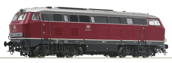 Roco 78182 - German Diesel Locomotive Class 215 of the DB (Sound Decoder)