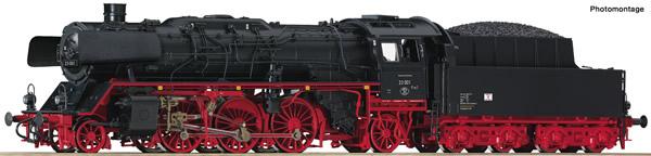 Roco 78255 - German Steam locomotive 23 001 of the DR (Sound)
