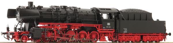 Roco 78256 - German Steam Locomotive Class 50 of the DB (Sound Decoder)