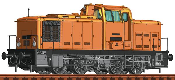 Roco 78264 - German Diesel Locomotive Class 106 of the DR (Sound Decoder)