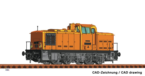 Roco 78266 - German Diesel locomotive class 106 of the DR (Sound)