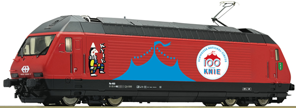 Roco 78657 - Swiss Electric Locomotive 460 058-1 Circus Knie of the SBB