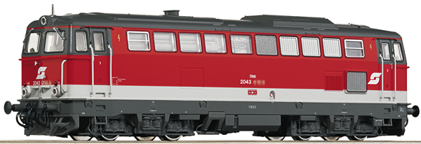Roco 78712 - Austrian Diesel Locomotive Class 2043 of the ÖBB (Sound Decoder)