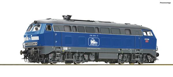 Roco 78755 - German Diesel locomotive Class 218 of the DB (Sound)