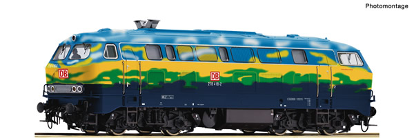 Roco 78758 - German Diesel Locomotive Class 218 of the DB-AG (Sound)