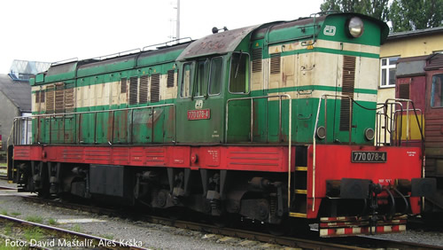 Roco 78776 - Czech Diesel Locomotive 770 of the CD (Sound Decoder)