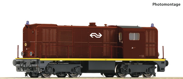 Roco 78788 - Dutch Diesel locomotive class 2400 of the NS (Sound)