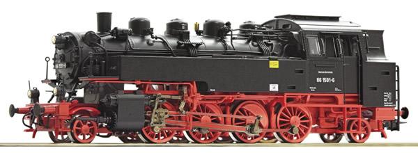 Roco 79021 - German Steam locomotive class 86 of the DR (Sound)