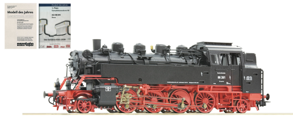 Roco 79027 - German Steam Locomotive 86 261 of the DRG (Sound Decoder)
