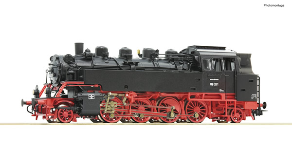 Roco 79029 - German Steam locomotive 86 270 of the DR (Sound)