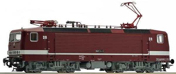 Roco 79063 - German Electric Locomotive 243 591-5 of the DR (Sound Decoder)