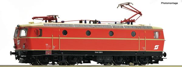 Roco 79071 - Austrian Electric locomotive 1044 008-9 of the ÖBB (Sound)