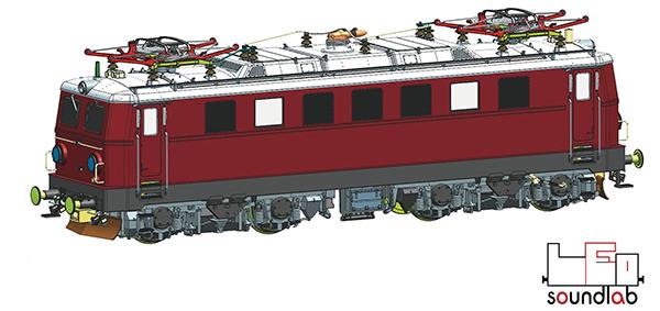 Roco 79093 - Electric locomotive 1041.08, ÖBB