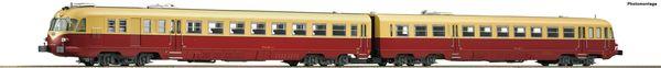 Roco 79177 - Italian Diesel Railcar Class ALn 448/460 of the FS (Sound Decoder)