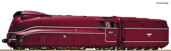 Roco 79205 - German Steam locomotive class 01.10 of the DB (Sound)