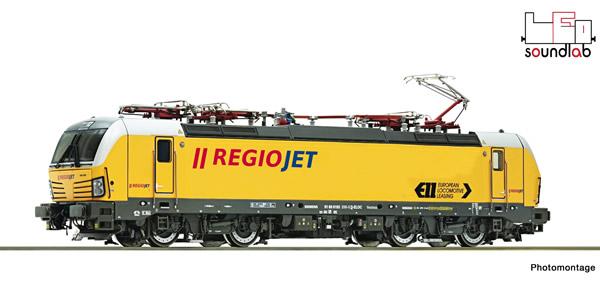 Roco 79217 - Czech Regio Jet Electric Locomotive Class 193 (Sound)