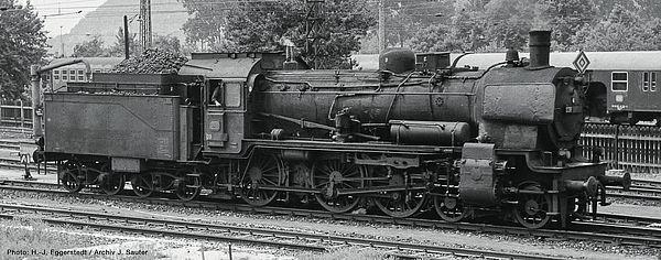 Roco 79380 - German Steam locomotive class 038 of the DB (Sound)
