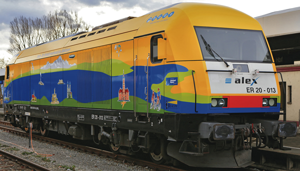 Roco 79400 - Diesel Locomotive Class 223, alex (Sound Decoder)