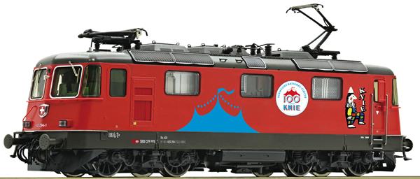 Roco 79402 - Swiss Electric Locomotive 420 294-1 Circus Knie of the SBB (Sound Decoder)