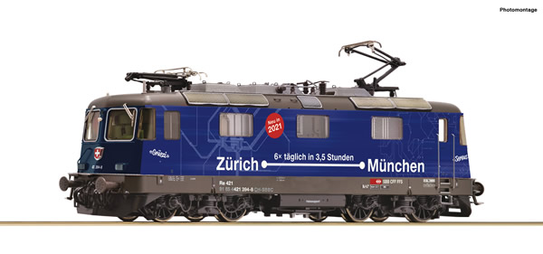 Roco 79408 - Swiss Electric Locomotive Class 421 394-8 of the SBB (Sound)