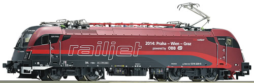 Roco 79509 - Electric Locomotive 1216 229 Railjet Snd