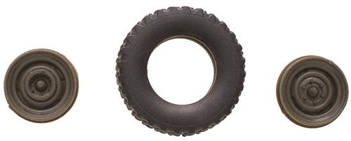 Roco 796 - Rubber Tire Set for Unimog