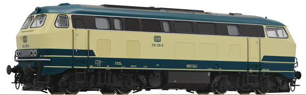 Roco 79727 - German Diesel Locomotive 218 218-6 of the DB (Sound Decoder)