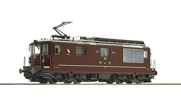 Roco 79783 - Swiss Electric locomotive Re 4/4 194 of the BLS (Sound)