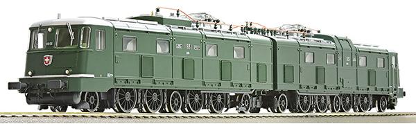 Roco 79814 - Swiss Electric Locomotive Ae 8/14 11851 of the SBB (Sound Decoder)