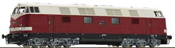 Roco 79895 - German Diesel Locomotive Class 118 of the DR (Sound Decoder)