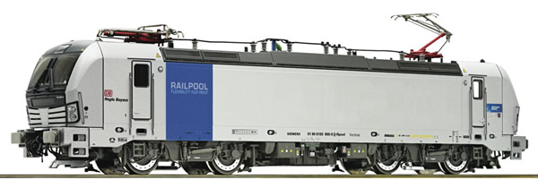 Roco 79934 - German Electric Locomotive 193 Railpool Bahnland Bayern (Sound)