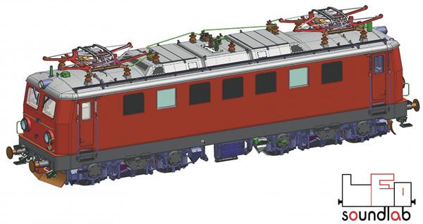 Roco 79961 - Electric locomotive class 1041, ÖBB