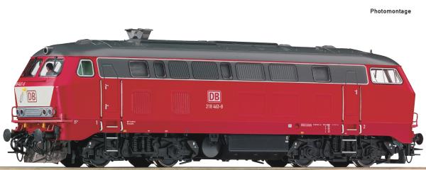 Roco 79990 - German Diesel locomotive 218 463-8 of the DB AG