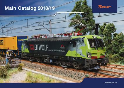 Roco 80218 - Roco Main Catalog 2018/19, English