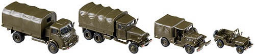 Roco 918 - 50 Years Austrian Army Truck Set  DISCONTINUED