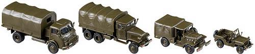 Roco 918 - 50 Years Austrian Army Truck SetDISCONTINUED