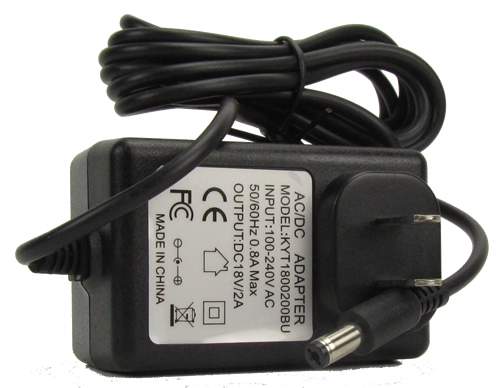 Roco 96307 - Switch Mode Power Supply 120 Volts Input, 18 Volts Output, 36 VA, FCC approved